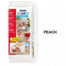 FIMO® Air Basic modelinas (kietėjantis ore arba mikrobangų krosnelėje) Peach 1kg