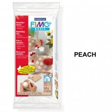 FIMO® Air Basic Modelling Clay (air-drying or microwave hardening) Peach 500g