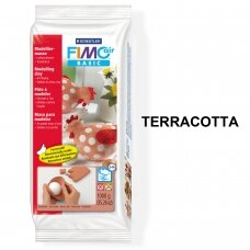 FIMO® Air Basic Modelling Clay (air-drying or microwave hardening) Terracotta 1kg