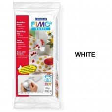 FIMO® Air Basic modelinas (kietėjantis ore arba mikrobangų krosnelėje) White 500g