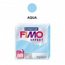 FIMO® Effect modelinas (kietėjantis aukštoje temperatūroje) Aqua 57g