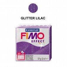 FIMO® Effect modelinas (kietėjantis aukštoje temperatūroje) Glitter Lilac 57g