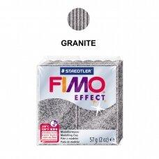 FIMO® Effect modelinas (kietėjantis aukštoje temperatūroje) Granite 57g