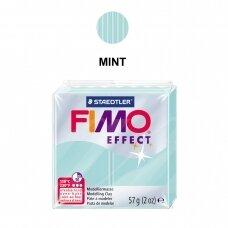 FIMO® Effect modelinas (kietėjantis aukštoje temperatūroje) Mint 57g