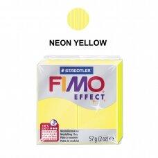 FIMO® Effect modelinas (kietėjantis aukštoje temperatūroje) Neon Yellow 57g