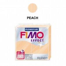 FIMO® Effect modelinas (kietėjantis aukštoje temperatūroje) Peach 57g