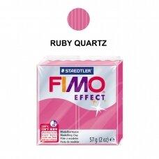 FIMO® Effect modelinas (kietėjantis aukštoje temperatūroje) Ruby Quartz 57g