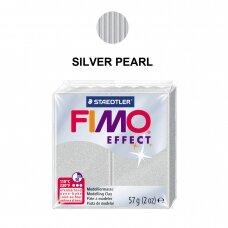 FIMO® Effect modelinas (kietėjantis aukštoje temperatūroje) Silver Pearl 57g
