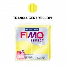 FIMO® Effect modelinas (kietėjantis aukštoje temperatūroje) Translucent Yellow 57g