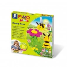 "FIMO® Kids Modelling Clay (oven-bake) Form & Play Jewellery Set ""Bees"""