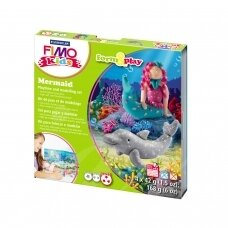 "FIMO® Kids Modelling Clay (oven-bake) Form & Play Jewellery Set ""Mermaid"""
