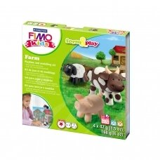 "FIMO® Kids Modelling Clay (oven-bake) Form & Play Jewellery Set ""Pets"""