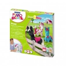 "FIMO® Kids Modelling Clay (oven-bake) Form & Play Jewellery Set ""Pony"""