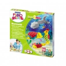 "FIMO® Kids Modelling Clay (oven-bake) Form & Play Jewellery Set ""Seaworld"""