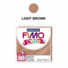 FIMO® Kids modelinas (kietėjantis aukštoje temperatūroje) Light Brown 42g
