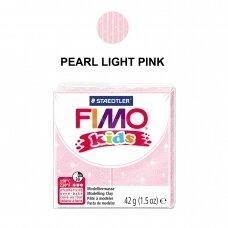 FIMO® Kids modelinas (kietėjantis aukštoje temperatūroje) Pearl Light Pink 42g