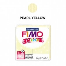 FIMO® Kids Modelling Clay (oven-bake) Pearl Yellow 42g