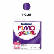 FIMO® Kids modelinas (kietėjantis aukštoje temperatūroje) Violet 42g