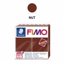 FIMO® Leather Effect Modelling Clay (oven-bake) Nut 57g