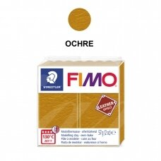FIMO® Leather Effect Modelling Clay (oven-bake) Ochre 57g