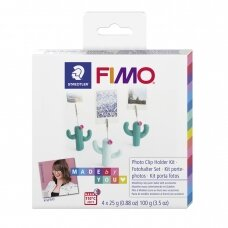 FIMO® Made by You modelinas (kietėjantis aukštoje temperatūroje) nuotraukų laikiklių gamybos rinkinys