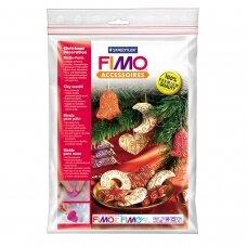 """FIMO® modelino formos, šablonai """"Christmas Decoration"""" 7x7cm (6 modeliai)"""