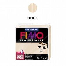 """FIMO® Professional """"Doll Art"""" modelinas (kietėjantis aukštoje temperatūroje) Beige 85g"""