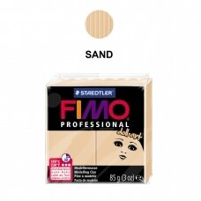 """FIMO® Professional """"Doll Art"""" Modelling Clay (oven-bake) Sand 85g"""