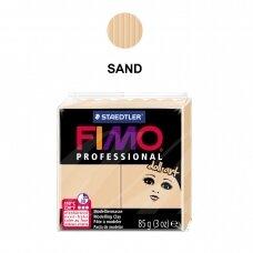 """FIMO® Professional """"Doll Art"""" modelinas (kietėjantis aukštoje temperatūroje) Sand 85g"""
