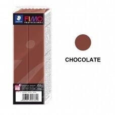 FIMO® Professional modelinas (kietėjantis aukštoje temperatūroje) Chocolate 454g