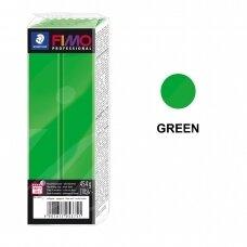 FIMO® Professional modelinas (kietėjantis aukštoje temperatūroje) Green 454g