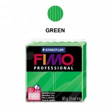 FIMO® Professional Modelling Clay (oven-bake) Green 85g