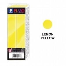 FIMO® Professional modelinas (kietėjantis aukštoje temperatūroje) Lemon Yellow 454g