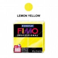 FIMO® Professional modelinas (kietėjantis aukštoje temperatūroje) Lemon Yellow 85g