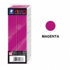 FIMO® Professional modelinas (kietėjantis aukštoje temperatūroje) Magenta 454g