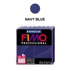 FIMO® Professional modelinas (kietėjantis aukštoje temperatūroje) Navy Blue 85g
