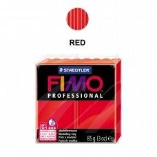 FIMO® Professional modelinas (kietėjantis aukštoje temperatūroje) Red 85g