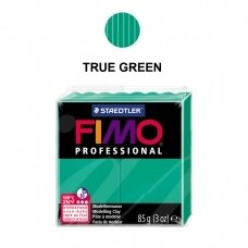 FIMO® Professional Modelling Clay (oven-bake) True Green 85g