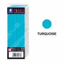 FIMO® Professional modelinas (kietėjantis aukštoje temperatūroje) Turquoise 454g