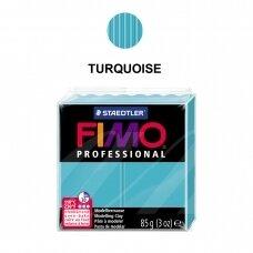 FIMO® Professional modelinas (kietėjantis aukštoje temperatūroje) Turquoise 85g