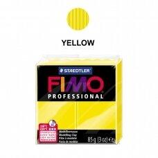 FIMO® Professional modelinas (kietėjantis aukštoje temperatūroje) Yellow 85g