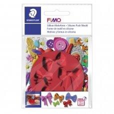 """FIMO® silikoninė forma, šablonas modelinui """"Bows"""""""