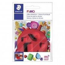 """FIMO® silikoninė forma, šablonas modelinui """"Gems"""""""