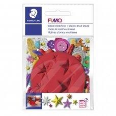 """FIMO® silikoninė forma, šablonas modelinui """"Stars"""""""