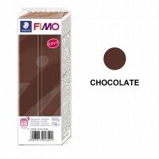 FIMO® Soft modelinas (kietėjantis aukštoje temperatūroje) Chocolate 454g
