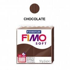 FIMO® Soft modelinas (kietėjantis aukštoje temperatūroje) Chocolate 57g