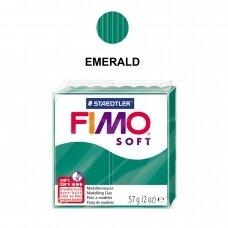 FIMO® Soft modelinas (kietėjantis aukštoje temperatūroje) Emerald 57g