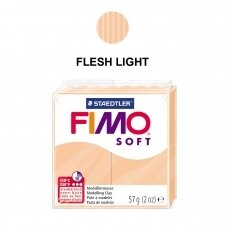 FIMO® Soft Modelling Clay (oven-bake) Flesh Light 57g