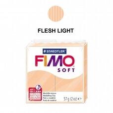 FIMO® Soft modelinas (kietėjantis aukštoje temperatūroje) Flesh Light 57g