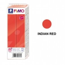 FIMO® Soft Modelling Clay (oven-bake) Indian Red 454g